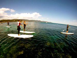 Découvrir le stand up paddle